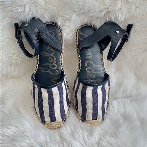 Sam Edelman Vivian Espadrilles Shoes Sz 7.5